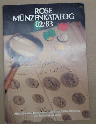 Rose Münzenkatalog 82/83 100% Original Europa
