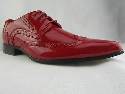 Zapatos rojos de punta abierta formales Kickers infantiles Q1S05ZC