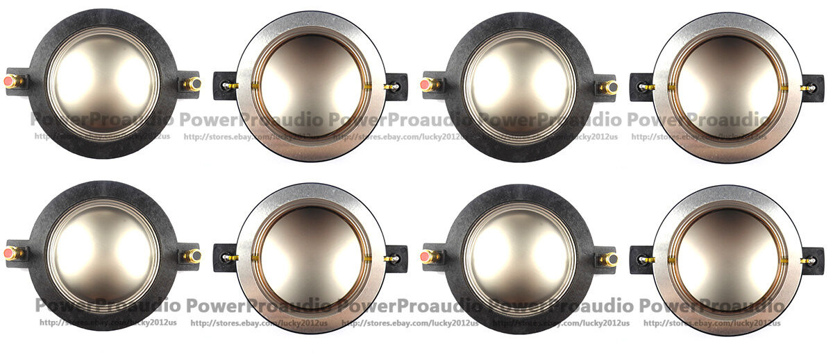 Diafragma de 8PCS LOT para P-audio BMD740 Turbosound CD210 CD210 CD210 CD212  10-085 8 ohmios 247992