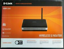 NIB D-LINK WBR-1310 WIRELESS G ROUTER 802.11g AND 802.11b