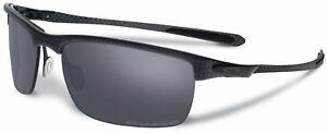 d2762e5b9f828 Image is loading Authentic-Oakley-CARBON-BLADE -Polarized-Black-Iridium-Sunglasses-