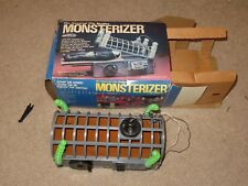 """RARE Remco The Universal City Studios Monsterizer Four 9"""" Figures With Box Works"""