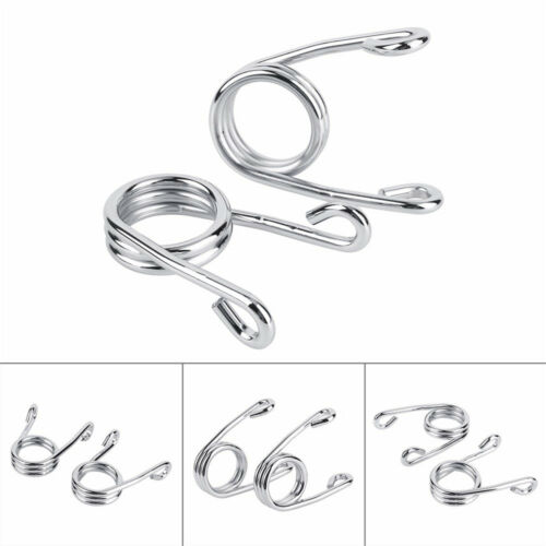 2x Spring Coil Refit Solo Seat Scissor Clip for Harley Chopper Bobber Motorcycle