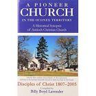 a Pioneer Church in The Oconee Territory 9780595812080 Hardcover