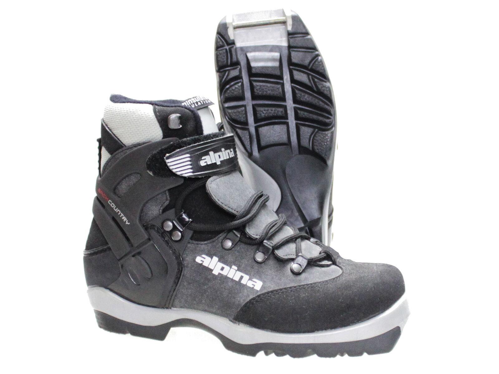 Langlaufschuh Skischuh ALPINA Back Country Gr 36 37 47 48 Bindung NNN S-N 7