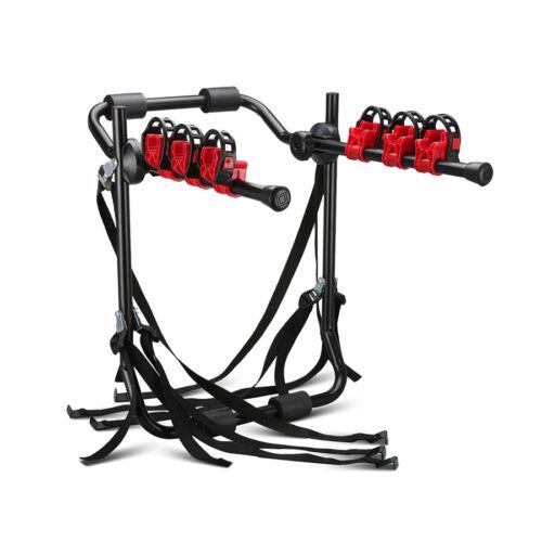 3 Bike Trunk-Mount Portable Bicycle Carrier Rack Hatchback SUV or Cars Sport US