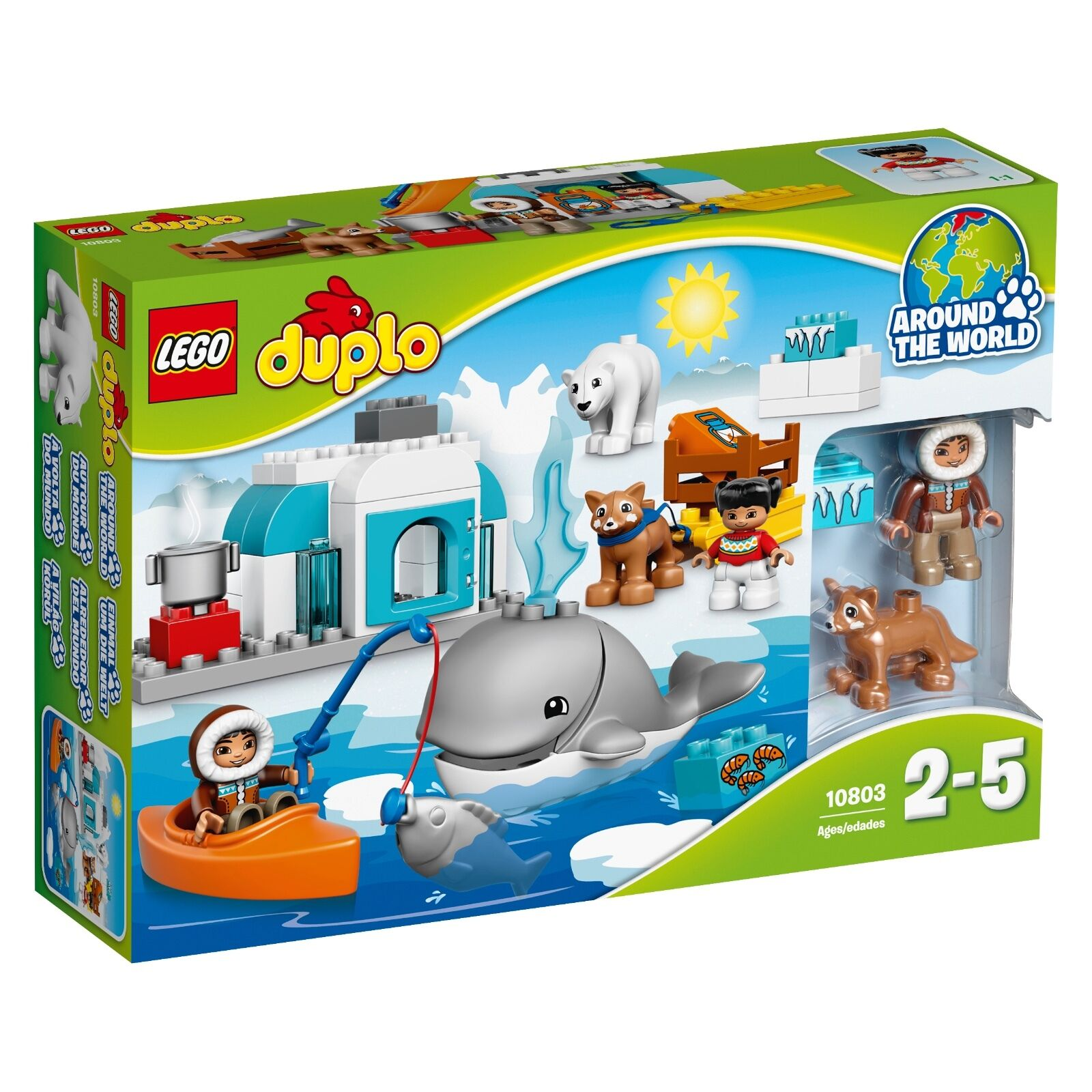 Lego ® duplo ® 10803 ártico nuevo embalaje original _ Arctic New misb NRFB