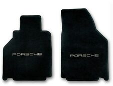 2001-2005 Porsche 911 Carpet Floor Mats with Silver Porsche Logo