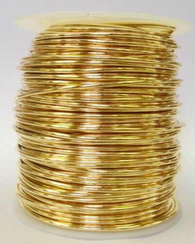 Multiple gauges available 1 Pound spool  Jewlers Bronze Wire