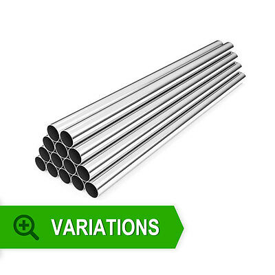 Alloy Straight Pipes 1 Metre Lengths - Aluminium Pipework for Intercoolers