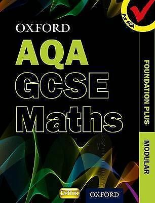 Oxford GCSE Maths for AQA: Foundation Plus Student Book-ExLibrary