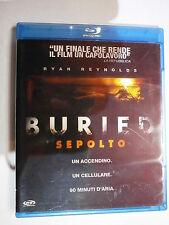 BURIED - SEPOLTO FILM IN BLU-RAY NUOVO DA NEGOZIO ANCORA INCELLOFANATO AFFARE!!!