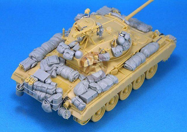 Legend 1/35 M24 Chaffee Light Tank Stowage and Accessories Set [Resin] LF1242