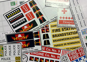 Thin Tri Line Union Jack decal sticker honour support Police Fire Ambulance