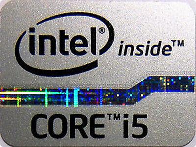 Holographic Version Intel inside Sticker 15.5mm x 21mm