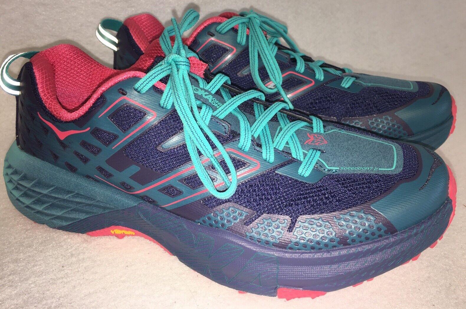 Hoka One One Speedgoat 2 Women's Trail Running shoes Peacoat   Ceramic 1016796