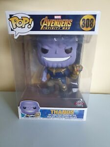 Marvel Avengers Infinity War Special Edition Thanos Funko Pop #308