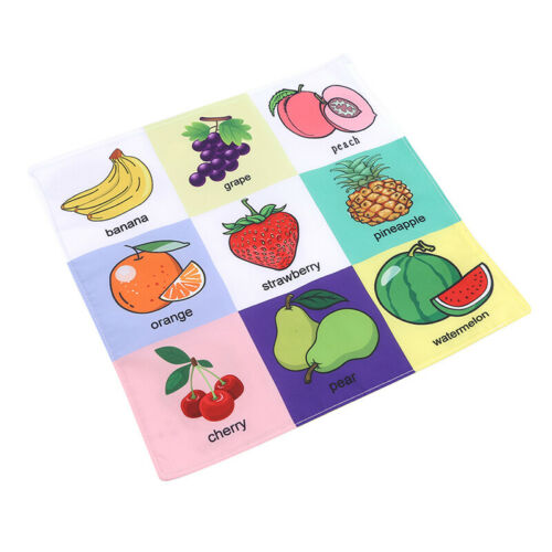 Baby Kids Newspapers Book Sound Simulation Tear Soft Towel Appease Toys LH