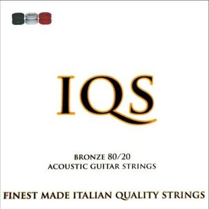 3-SETS-IQS-ACOUSTIC-LIGHT-11-52-80-20-BRONZE-TOP-QUALITY-ITALIAN-STRINGS