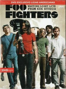 Foo-fighters-dvd-desperdiciando-Luz-en-vivo-desde-606-Studio-Nuevo-Sellado