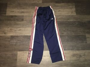 adidas button up track pants
