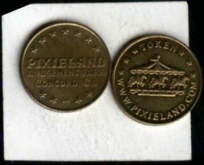 Pixieland Carousel Token Concord, CA