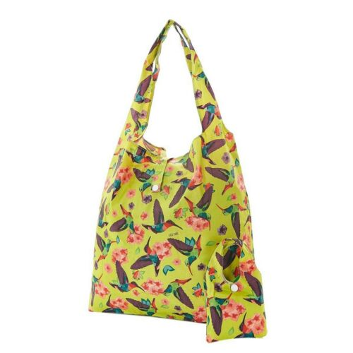 Hummingbird Stampa a scomparsa Shopper detiene 15kg ECO CHIC shopping bag