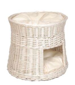 Lit pour chat Cat Tower Cat Basket Cuddly Cage Coussin en saule pour chat - Au choix