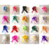 30mm Pull Bow Decoration Xmas Gift Wedding Party Car Gift Wrap Florist Ribbon