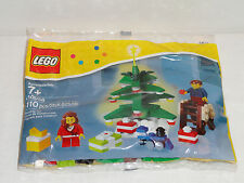 NEW LEGO Decorating The Christmas Tree Mini Figures Train 40058 Free Shipping