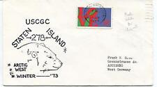 1973 USCGC Staten Island WAGB-278 Arctic West Winter Polar Antarctic Cover