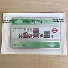 Mint Sealed BT Phonecard London Regional Transport 200units Cat. no. BTA037