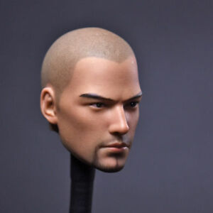 """1//6 Scale Holly Monk Head Sculpt F 12/"""" Man Male Action Figure Body Hot Toys Doll"""