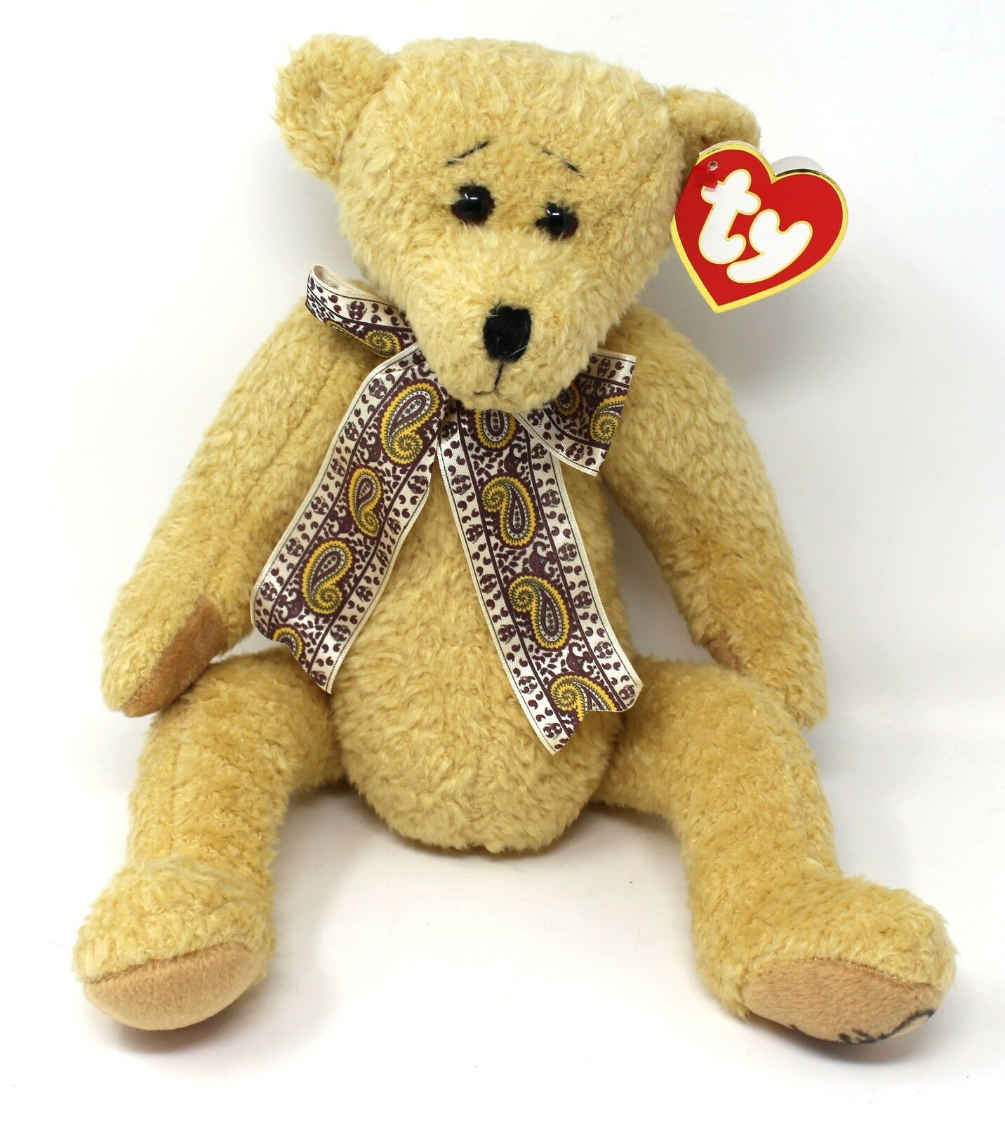 TY   Eleanor  BEAR SIGNED TWICE BY SALLY WINEY  RETIRED FULLY JOINTED style 5500