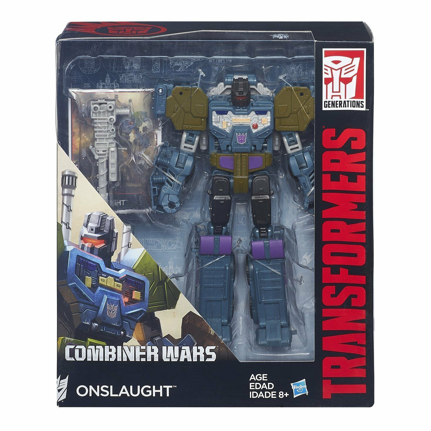 Transformers Combiner Wars Voyager Onslaught Figure NEW