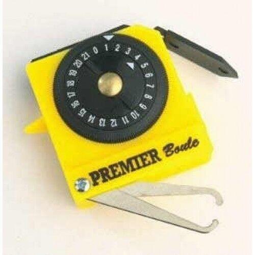 Crown Green Bowls Henselite Premier Bowlers Tape Measure Yellow Scorer