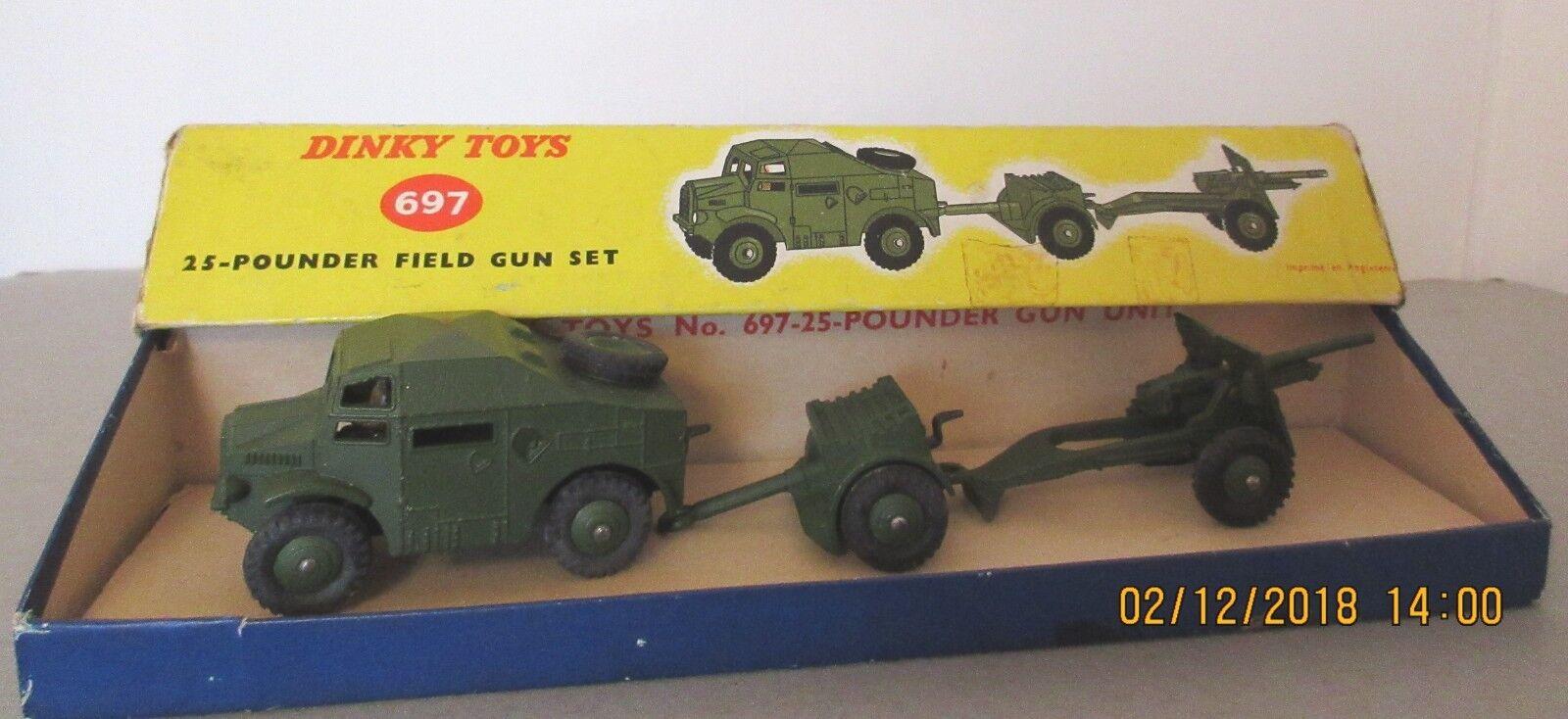 DINKY TOYS MILITAIRE ARMÉE 25 25 25 POUNDER FIELD GUN SET-DINKY TOYS Modèles Militaires | Une Performance Fiable  0e297b