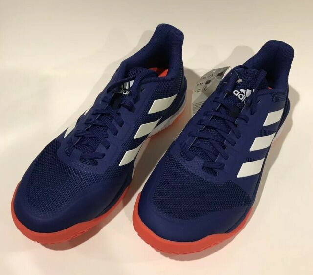 fec90b3a7 Mens Adidas Stabil Bounce Shoes Sneakers Size 8 Blue White Orange B22648 New