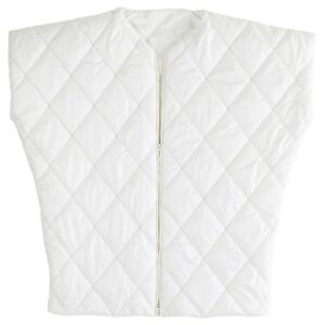 IKEA PS 2017 Decorative Quilt Throw with Zipper White 90x95cm