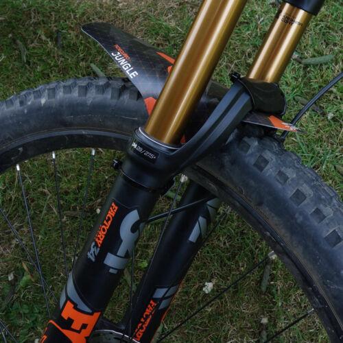 Front MTB Mudguard RideGuard PF1 Enduro Guard Mountain Bike Fender UK Mde Canopy