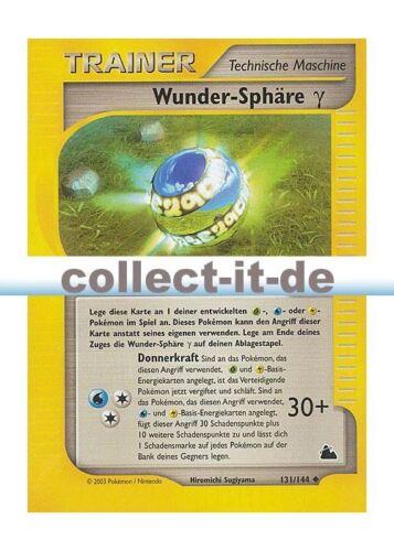 Pokemon Skyridge 131//144 Wunder-Sphäre  deutsch