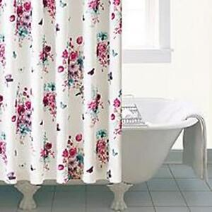 Vintage Style Shower Curtain 108