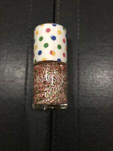 Brand-New-Nails-Inc-034-York-Street-pink-amp-green-dotty-glitter-Nail-Varnish-10ml