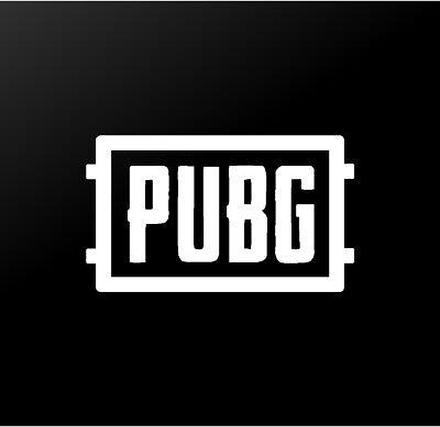 Player Unknown/'s Battlegrounds Logo Vinyl Decal Sticker PUBG Level 3 Helmet