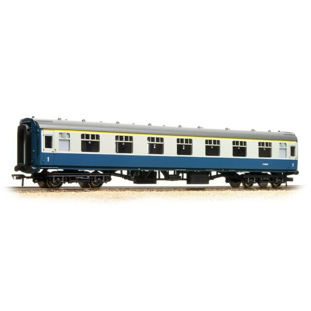 Bachmann 39-025E BR Mk1 SK Second Corridor Blue /& Grey 00 Gauge T48 Post