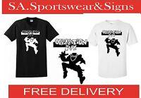 Adults Gildan Printed Ska Man Operation Design T-shirt Sizes S-xxl