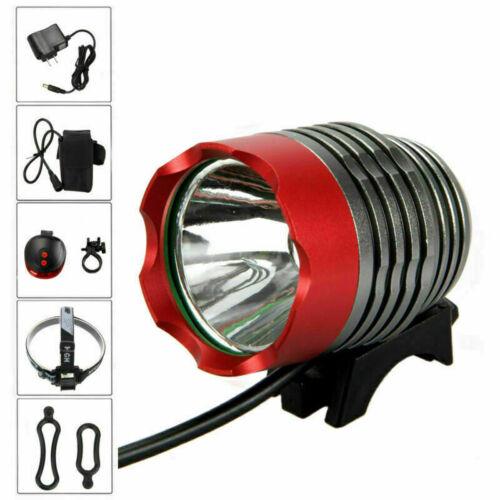 Waterproof 5000LM XM-T6 LED Front Head Bicycle Bike Light Headlight MTB Lamp