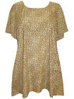 NEW SPECIAL OFFER Marina Karina Longline Short Sleeve Print Tunic UK 16 to 30/32