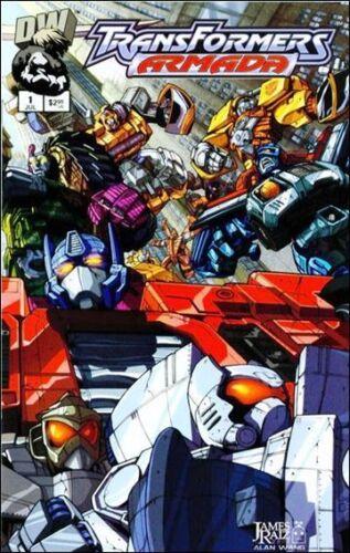 TRANSFORMERS ARMADA #1 DREAMWAVE COMICS