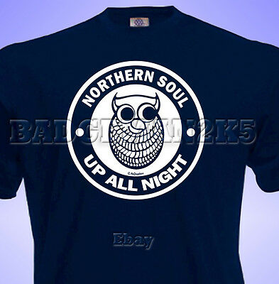wigan casino night owl t-shirt